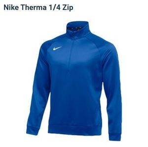 The Nike Therma 1/4 Zip Pullover